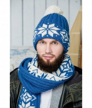 Winter 2-ка флис (колпак, шарф) Комплект