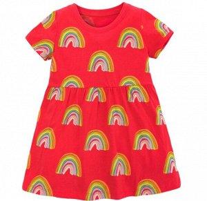 Платье Платье трикотаж. 2Т(90 см) 3Т(100 см) 4Т(110 см) 5Т(116 см) 6Т(120 см) 7Т(130 см)