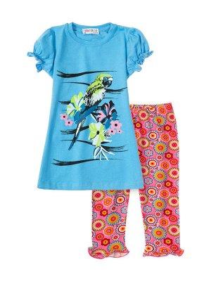 """Комплект для девочек """"Parakeet"""", цвет Голубой"""