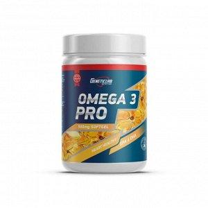 Омега 3 (Рыбий жир) GENETICLAB PRO 500мг 60% - 90 капсул