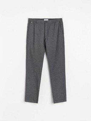 Матерчатые брюки slim fit