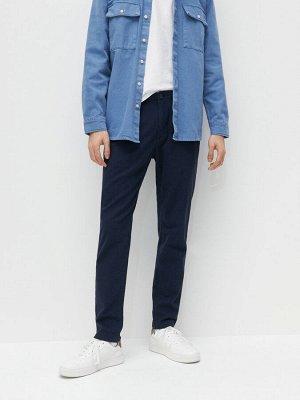 Матерчатые брюки slim