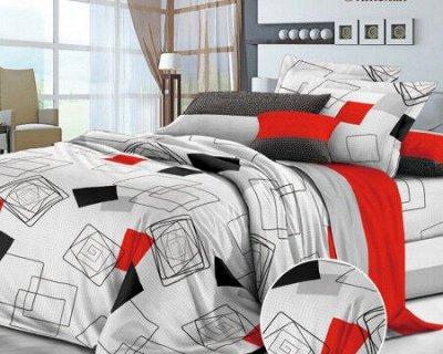 Тюль, шторы, чехлы на мебель. — КПБ 1.5сп ПОПЛИН — Постельное белье