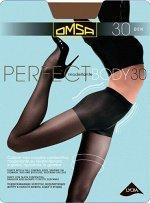 OMSA / Колготки PERFECT BODY 30 (моделирующие шортики, распределённое давление по ноге)