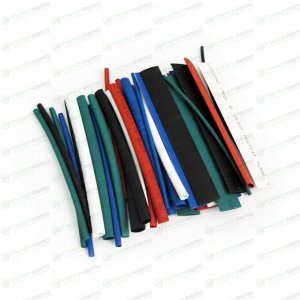 Термоусадочные трубки Вымпел, D=1,5-10мм, длина 10 см, 35 шт