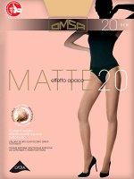 OMSA / Колготки MATTE 20 (матовая нить,эффект пудры)