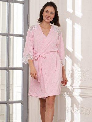 Комплект Ofelia розовый меланж  (хлопок 55% PE30% PA10% эластан 5%)