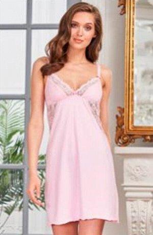 Сорочка Jennifer розовый  (хлопок 80% PA 14% эластан 6 %)
