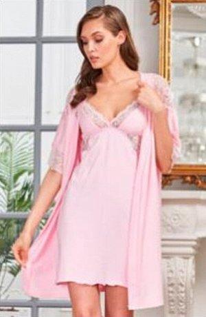 Комплект Jennifer розовый  (хлопок 80% PA 14% эластан 6%)