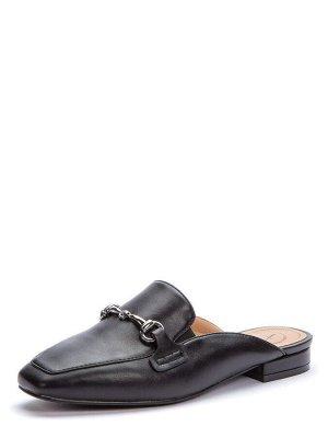 917040/03-01 черный иск.кожа женские туфли открытые (В-Л 2021)