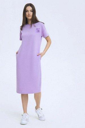 Платье LaVeLa L10186 сиреневый