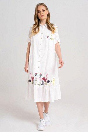 Платье Prio 34280z белый