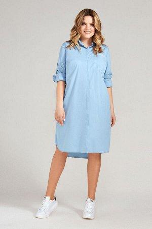 Платье Prio 46580z голубой