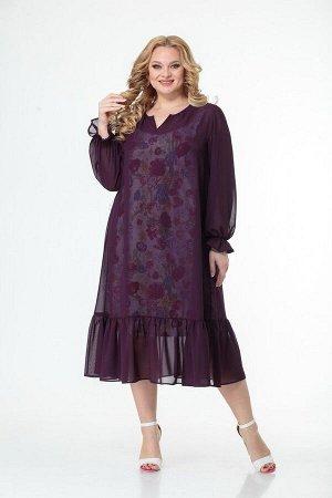 Платье Anelli 1001 малина