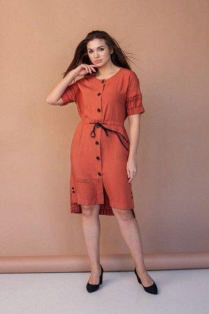 Платье Angelina 547 оранжевый