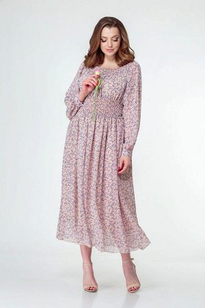 Платье Anastasiya Mak 811 розовый