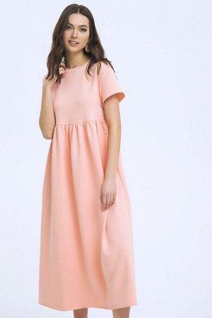 Платье LaVeLa L10239 персиковый