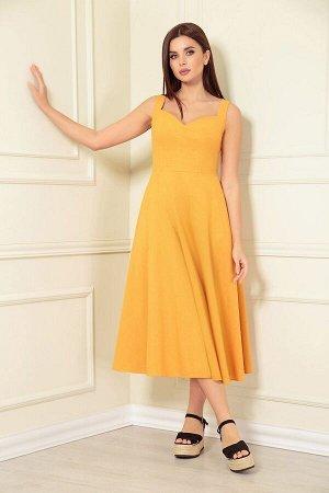 Платье Andrea Fashion AF-139/4 горчица