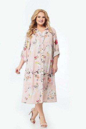Платье Мишель стиль 949 цветочный