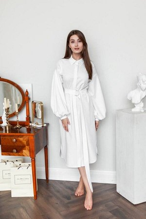 Платье KRASA 238-21 молочный