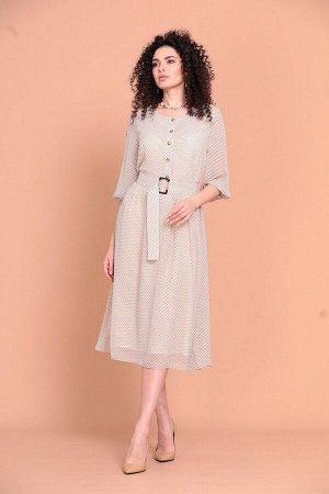 Платье Твой имидж 1350 молочный