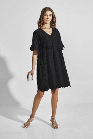 Платье ELLETTO LIFE 1825 черный