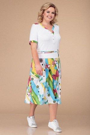 Платье Линия Л Б-1226 бабочки