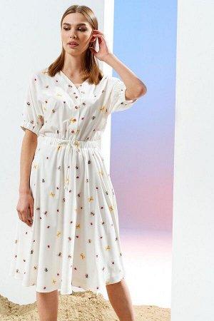 Платье Prestige 4116 молочный
