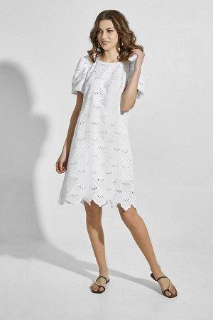 Платье ELLETTO LIFE 1827 белый