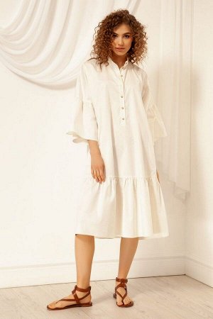 Платье Nova Line 50036 молочный