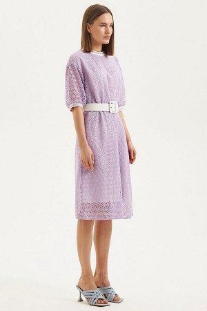Платье Moveri by Larisa Balunova M5097D сиреневый
