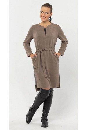 Платье Arisha 1224 бронзово-коричневый