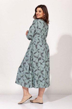 Платье ELLETTO 1814 мятный