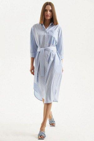 Платье Moveri by Larisa Balunova 5136D голубой