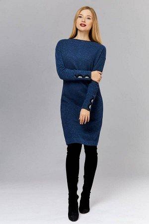 Платье Arisha 1184 индиго