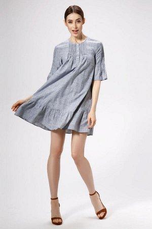 Платье Панда 483980 серый