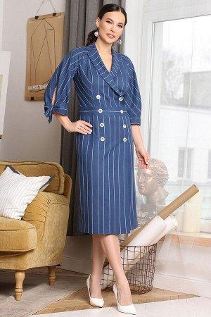 Платье Мода Юрс 2650 морская_волна