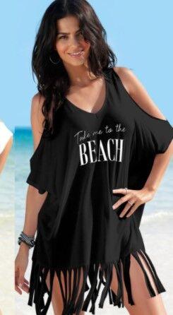 Женское платье с открытыми плечами, цвет черный