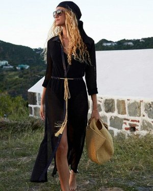 Женское платье, цвет черный