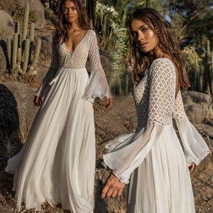 Женское платье, кружевной верх, цвет белый