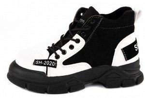 Ботинки иск.кожа ,иск.байка  маломерят на размер