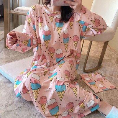 Красивая даже дома. Тапочки, маски для сна, пижамы, кигуруми — Домашние платья