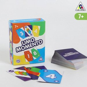 Настольная игра «UMO MOMENTO», 108 карт, 7+