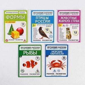 Обучающие карточки по методике Г. Домана, А6 МИКС