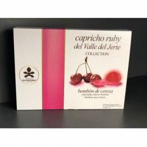 """Конфеты шоколадные """"Сapricho"""" испанская черешня в рубиновом    шоколаде  без глютена"""