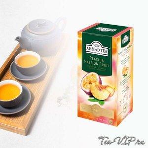 "Чай Ахмад ""Персик-маракуйя"" 25пак 1/12"