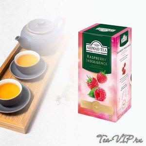 Чай Ахмад с ароматом Малины 25пак