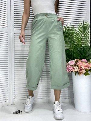 Брюки Модные брюки кюлоты качество люкс