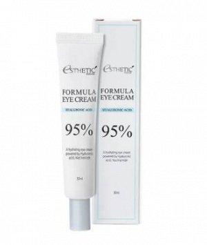 Увлажняющий крем для кожи вокруг глаз с гиалуроновой кислотой и ниацинамидом Esthetic House Formula Eye Cream Hyaluronic Acid 95%, 30 мл