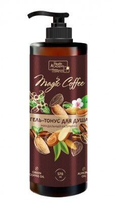Гель-тонус для душа Vilsen Magic Coffee миндальный капучино 570мл /12 MC-503
